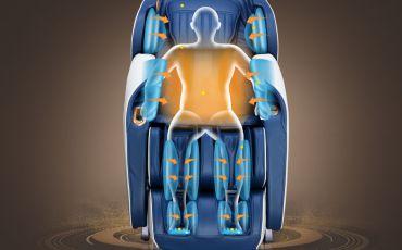 Воздушно-компрессионный массаж - Массажное кресло Bodo Ecto Sport Beige