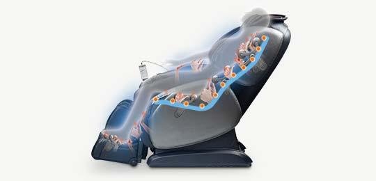 Профессиональная  L-образная каретка — 130 см - массажные кресла