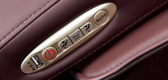 Дополнительный пульт управления - Массажное кресло Richter Ecto Platinum Purple