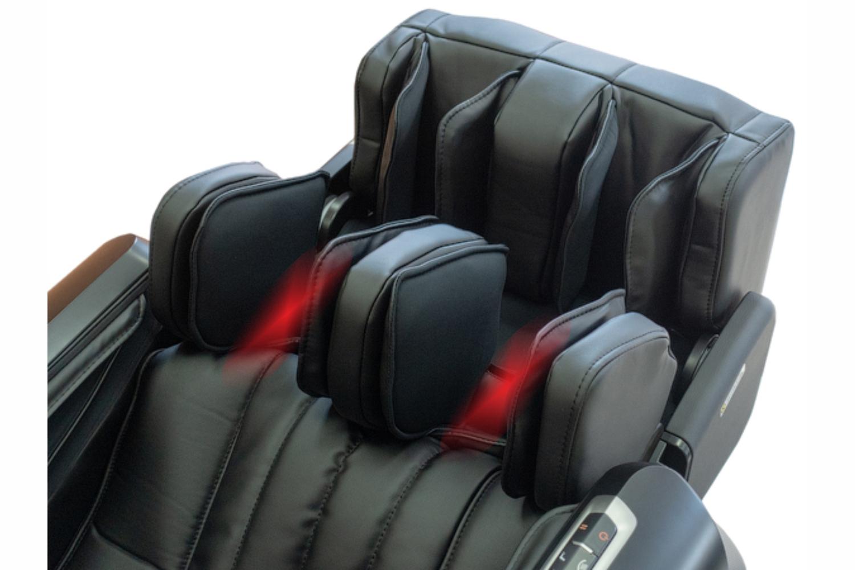 Массаж коленей с ИК-прогревом - Массажное кресло Bodo Norton Black