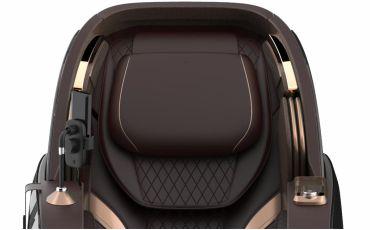 Двойная подушка-подголовник - Массажное кресло Bodo Palladium Bordeaux