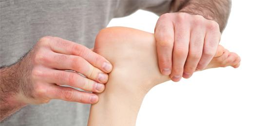 Массаж ахиллова сухожилия - массажер для ног Bodo Dessan