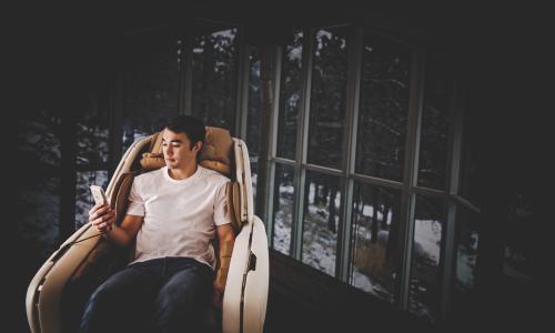 Прогрев всего тела - Массажное кресло DreamWave M.8