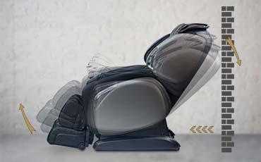 Слайдер система раскладывания кресла - Массажное кресло Bodo Excellence Light Brown
