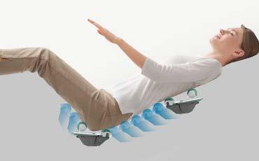Роликовый массаж ягодиц - Массажное кресло Bodo Excellence