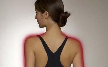 Сканирование положения плеч - Массажное кресло Bodo Ecto Black