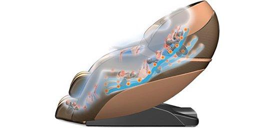 Профессиональная удлиненная каретка — 125 см - Массажное кресло Richter Alpine