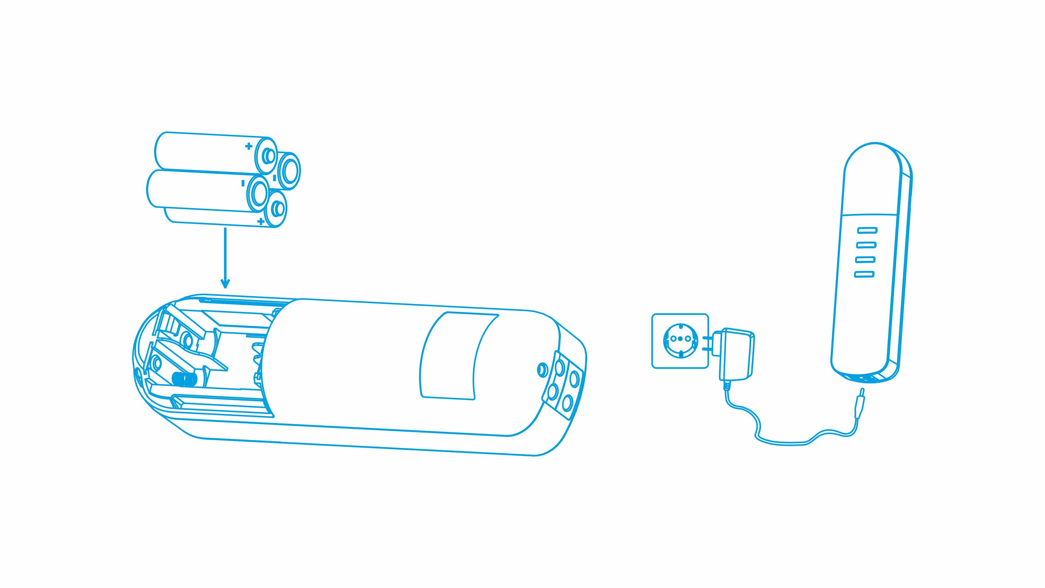 Питание от сети 220В или от батареек - Лимфодренажный массажер для ног Bodo Air Pro