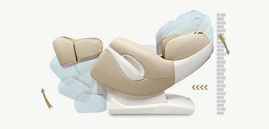 Функция Нулевого пространства - Массажное кресло Sensa S-Shaper Black