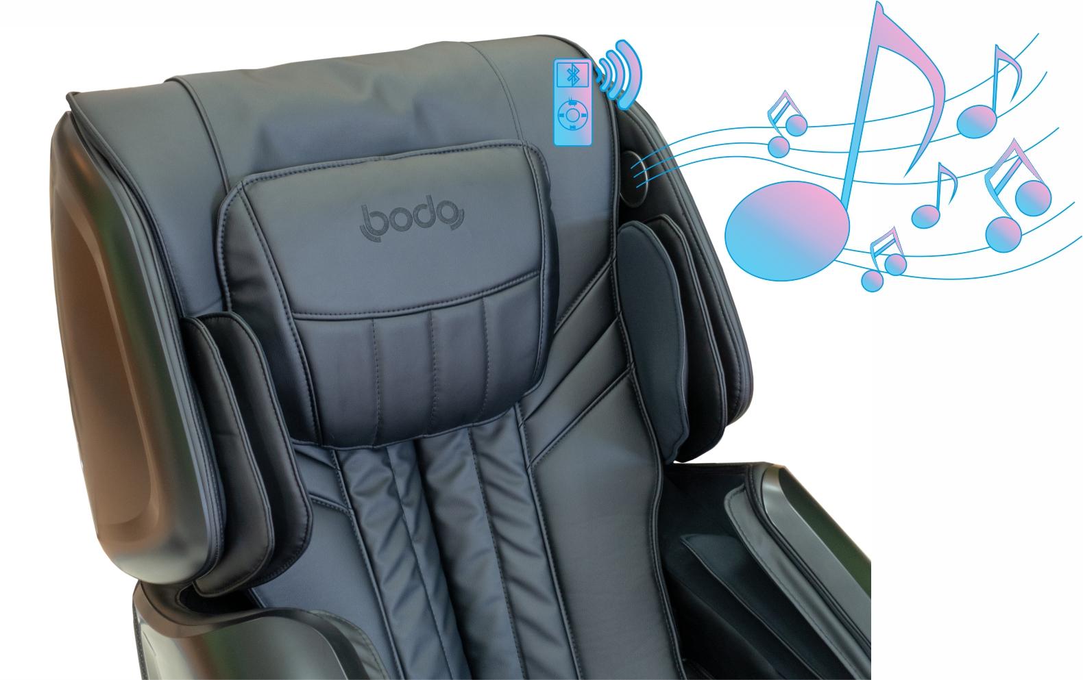 Аудиосистема - Массажное кресло Bodo Norton Black