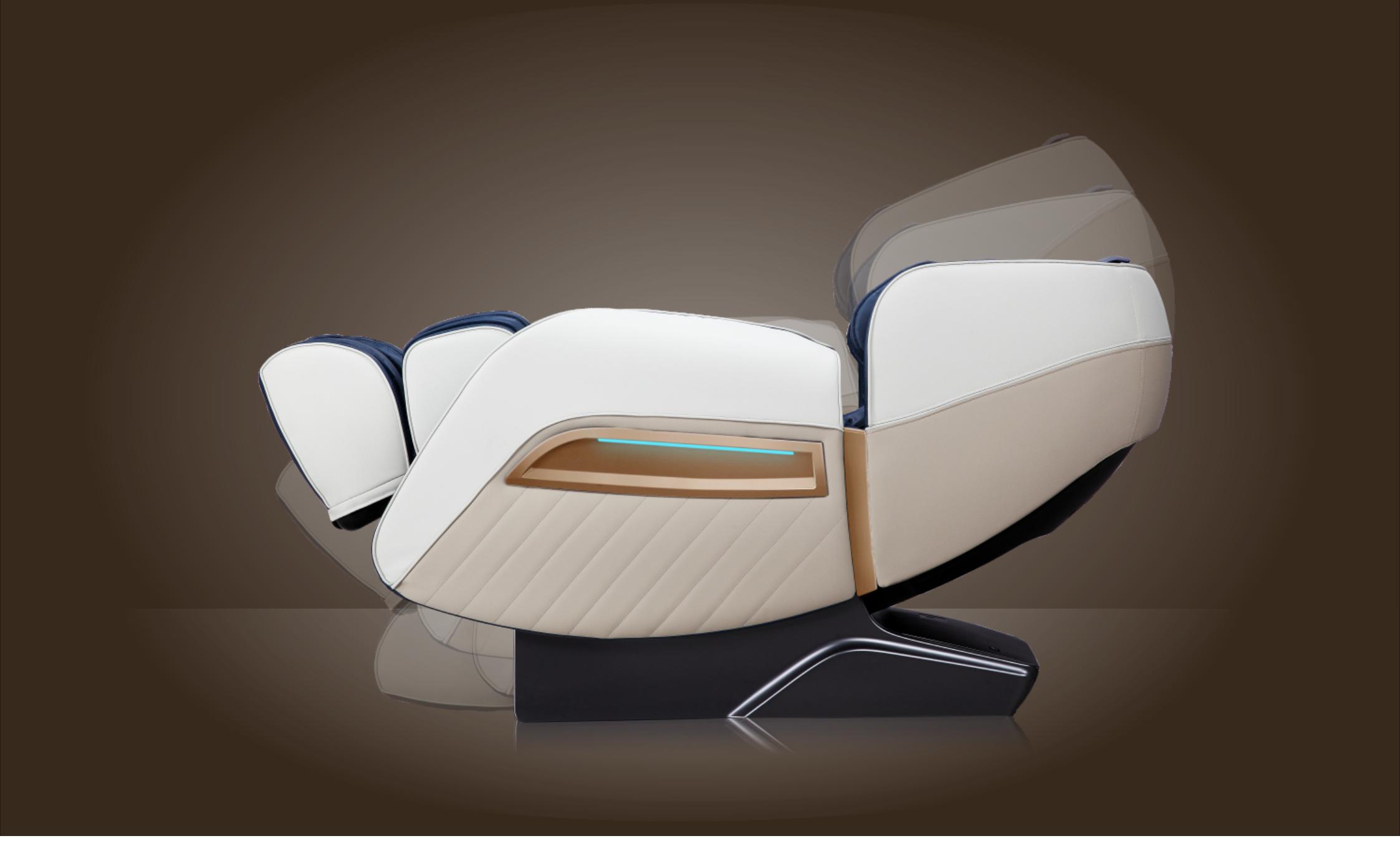 Цветотерапия - Массажное кресло Bodo Ecto Black