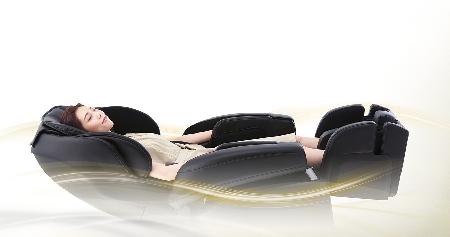Состояние невесомости - массажное кресло Fujiiryoki JP-1100 Brown