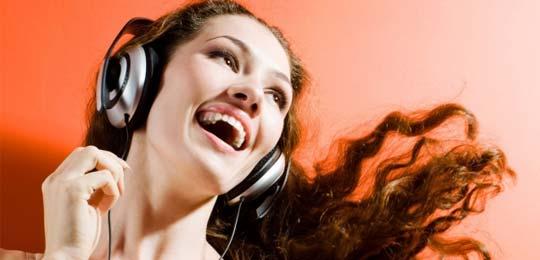 Воспроизведение музыки - массажер