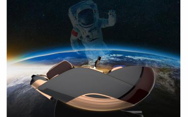 Нулевая гравитация - Массажное кресло Bodo Palladium Bordeaux
