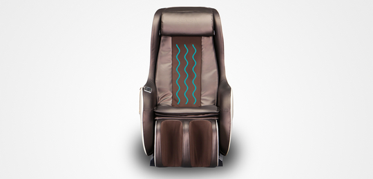 Уникальный волнообразный массаж - Массажное кресло Sensa Lounger Beige-Brown