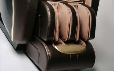 Воздушно-компрессионный массаж стоп - Массажное кресло Sensa S-Shaper Black