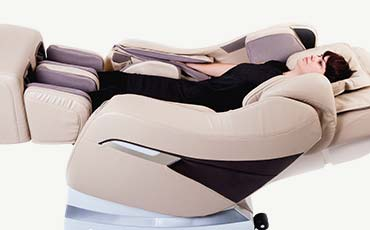 Воздушно-компрессионный массаж - Массажное кресло Richter Balance Beige Brown