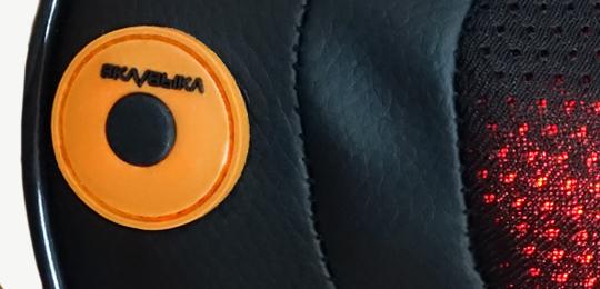 Управление одной кнопкой - Автомобильная массажная подушка Richter Well