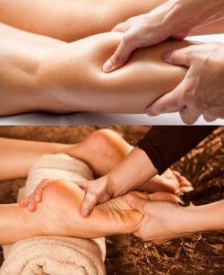 Роликовый массаж голеней и стоп - массажер для ног Bodo Dessan