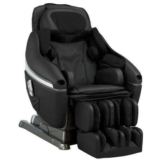 Чёрное массажное кресло Inada Dreamwave